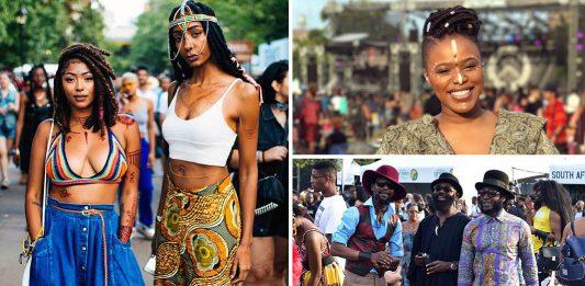 Afropunk 2017 Street Style